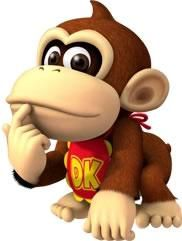 Baby Donkey Kong, usually referred to as Baby DK, is the infant self of Donkey Kong who debuted in the Nintendo DS game, Yoshi's Island DS. Game Mario Bros, Mario Bros., Mario Party, Mario And Luigi, Super Mario Bros, Princesa Daisy, Donkey Kong Junior, Baby Donkey, Diddy Kong