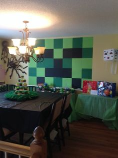Minecraft Birthday Party Ideas | Photo 1 of 16 | Catch My Party