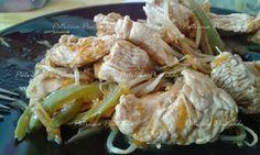 As Delícias das Guerreiras: Bife de perú com rebentos de soja