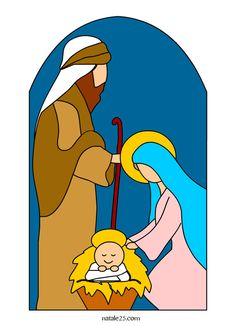 Christmas Nativity Set, Christmas Rock, Christmas Clipart, Christmas Crafts, Christmas Drawing, Christmas Paintings, Nativity Clipart, Nativity Painting, Happy Birthday Jesus