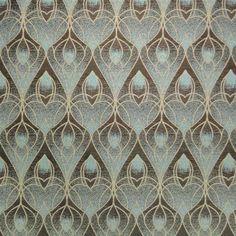 Art Deco Art Nouveau Curtain and Upholstery Fabric Art Nouveau Art Deco Curtains, Art Deco Fabric, Upholstery Fabric Uk, Chair Fabric, Curtain Fabric, Art Deco Stoff, Art Deco Chair, Art Nouveau Pattern, Art Deco Bedroom