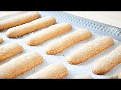 Печенье Савоярди ☆ Дамские пальчики ☆ Savoiardi recipe - YouTube