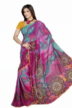 Halloween Costume Party- Amazon.com: Triveni Sarees Saree One Size Multi: Clothing
