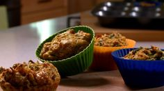 Muffins repas Healthy Meals For Kids, Healthy Food, Healthy Recipes, School Lunch, Muffins, Breakfast, Snacks, Meal, Food