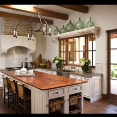 Always loved the simplicity of this Candelaria Design Kitchen.