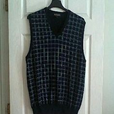 Brooks Brothers Other - Navy Plaid Sweater Vest-JUST REDUCED !
