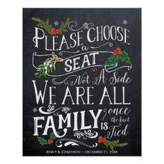 pick a seat not a side christmas wedding sign Customizable winter wedding supplies and accessories Wedding Signs, Wedding Table, Diy Wedding, Wedding Ceremony, Dream Wedding, Wedding Day, Wedding Summer, Wedding Stuff, Wedding Themes