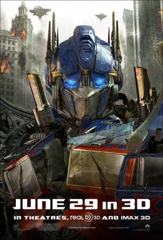 Return to the main poster page for Transformers: Dark of the Moon