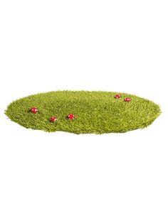 Grass rug, Childs Bedroom