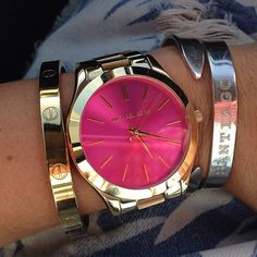 >>>Michael Kors OFF! >>>Visit>> Michael Kors Watches and Bracelet Cheap Michael Kors, Michael Kors Outlet, Michael Kors Watch, Michael Watches, Cute Jewelry, Jewelry Accessories, Fashion Accessories, Gold Jewelry, Jewlery