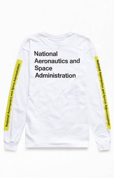 99fea5af NASA Atom Long Sleeve T-Shirt   PacSun Pacsun Mens, Nasa, Crew Neck
