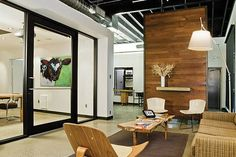 July 2009 Archives – MyeOffice – Workplace Design and Technology, Office Space a… – Office İnterior İdeas Contemporary Interior Design, Modern Design, Design Design, Cool Office, Office Ideas, Office Designs, Office Workspace, Office Spaces, Work Spaces