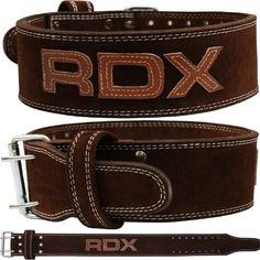 RDX Cow Hide Leather Weight Lifting N…