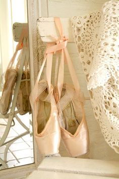ballet shoes. #pink. #ballet, #shoes