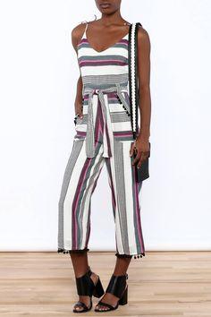 899009f9c98 Saylor Multi Stripe Jumpsuit. Shoptiques
