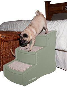 I just read a great review on this Pet Gear Easy Step III Pet Stairs, 3-step/for cats and dogs up to 150-pounds, Sage. You can get all the details here http://bridgerguide.com/pet-gear-easy-step-iii-pet-stairs-3-stepfor-cats-and-dogs-up-to-150-pounds-sage/. Please repin this. :)