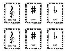 Music Symbol Memory Game- FREE Download from staytunedmusicteacher.blogspot.ca