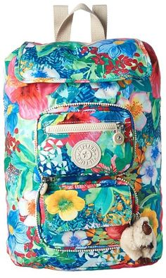 These happy colors! :: Kipling Alicia Foldable Backpack