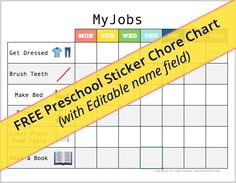 Do your kids have chores? I hear a lot: I can't keep my house clean because I have kids. While I totally get how kids are inevitably messy (mine STILL Activities For Boys, Chores For Kids, Printable Chore Cards, Printables, Bullet Journal Cleaning, Preschool Names, Big Huge, Toddler Fun, How To Make Bed