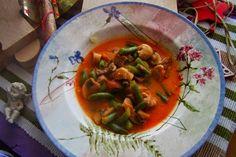 MojaKuchniaMalutka i reszta domu : Zupa gulaszowa z zieloną fasolką