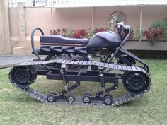 personal tracked vehicle. Mini tank.