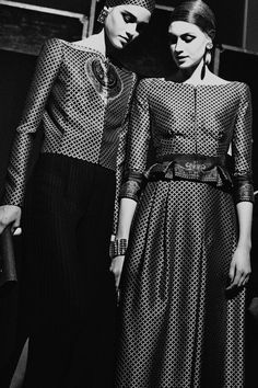 Couture Week in Review  :  Armani Prive photographed by Harry Carr.       CR Fashion Book