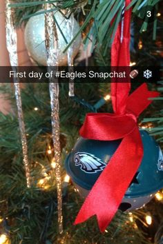 The first Snapchat of the Eagles