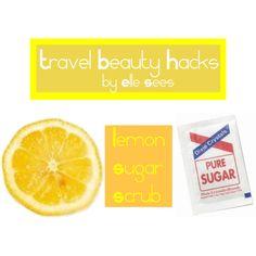"Travel Beauty Hacks ~ ""Or so she says..."" Blog"