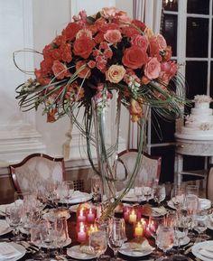 elegant affairs centerpiece