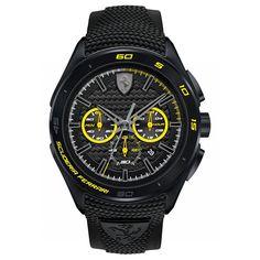 Scuderia Ferrari Gran Premio 0830345  Zegarek Scuderia Ferrari Gran Premio 0830345 przedstawia czysty wyścigowy styl, któremu nie można się oprzeć! Ferrari to symbol, którego nie trzeba nikomu przedstawiać - marka egzotycznych aut sportowych założona przez Pana Enzo Ferrari z Maranello we Włoszech. #timetrend #ferrari #zegarek #zegarki