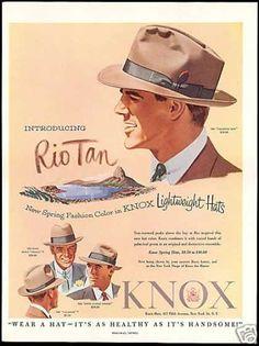 a classic man s hat circa 1953 7041267b85dc