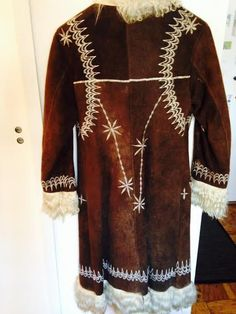 afghan shearling coat.