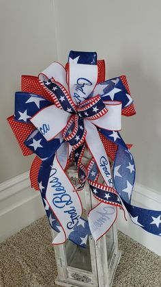 Memorial Day Decorations, Military Decorations, Church Decorations, 4th Of July Decorations, Fourth Of July Decor, July 4th, 4th Of July Wreath, Blue Crafts, Diy Crafts To Do