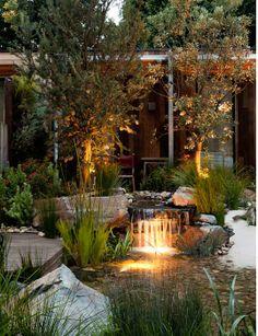 Phillip Johnson Landscape design, sustainable landscape design, garden show