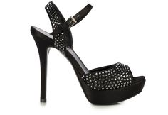 high #heels jewel #sandal with #Swarovsky Elements