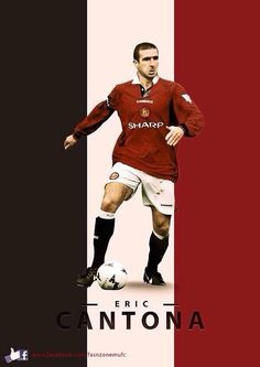 Eric Cantona of Man Utd wallpaper.