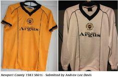 Newport County 1983 Shirts Football Shirts, Sports Shirts, Newport County, Amber, Polo Ralph Lauren, Army, T Shirt, Tops, Gi Joe