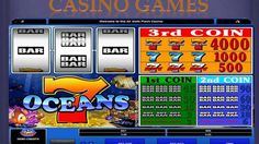 7 Oceans is a pretty cool classic free slot game with only 3 reels and one pay lines to play with. The theme of this amazing free slot game is an ocean Free Slot Games, Free Slots, Online Casino Games, Slot Online, Slot Machine, Oceans, Enterprise Application Integration, Arcade Game Machines