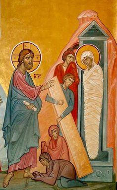 Raising of Lazarus by Ioan Popa