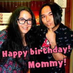 Happy birthday to my lovely Mommy #Myuji #singer #actor #AnnLewis #birthday #losangeles #la #Mommy #cute #beautiful #parentandchild #yakiniku #美勇士 #歌手 #役者 #アンルイス #誕生日 #かわいい #ロサンゼルス #ロス #焼肉屋 #の前 #素敵 #親子