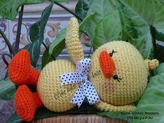 Don Pato es fácily rápido de tejer, perfecto para las que estáis empezando en el mundo de los amigurumis. Para que los niños pequeños pu...
