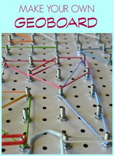 Use simple pegboard
