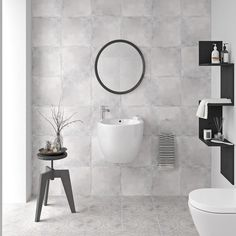 VersaTile by name, versatile by nature. These highly contemporary tiles from Ted Baker provide an extra-special finishing touch to your bathroom or kitchen. Contemporary Tile, Light Grey Walls, Grey Tiles, Wall And Floor Tiles, Grey Bathrooms, Ted Baker, Flooring, House Styles, Style Ideas