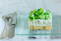 Cheesecake au concombre Terrine, Gourmet, Cucumber, Feta, Entrees, Oeuvres, Sweet Tooth, Quiches, Club