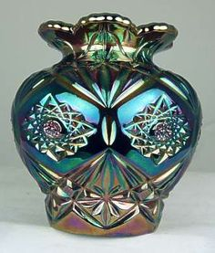 Tennessee Star vase, blue