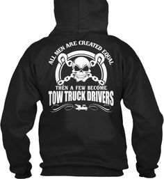 A few Men become Tow Truck Drivers!