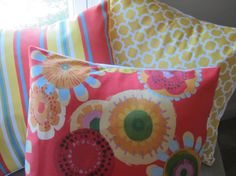PICK ONE  Indoor/Outdoor Fabric Pillow Covers  by BristowTreasures, $35.00