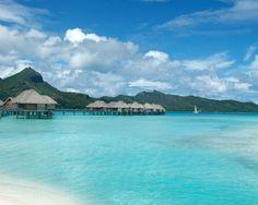 "On my Bucket List: Bora Bora - Over water ""cabins""!"