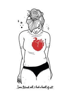 Heart of Cat (Paola Veccji)