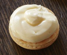 Vanilla Buttercream recipe for macron filling - can add many other different flavors and coloring to this basic recipe